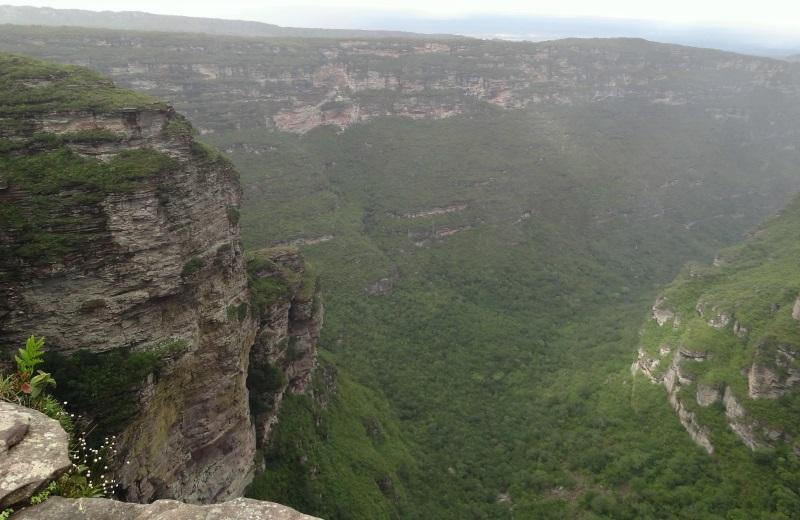 Mirante da Cachoeira da Fumaça, Chapada Diamantina