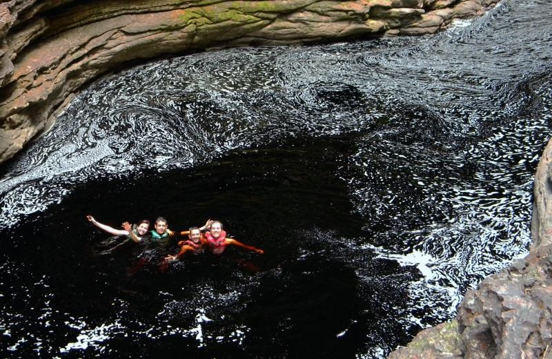 Passeio na Cachoeira do Buracão, Chapada Diamantina