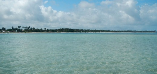 Passeio na praia de Paripueira em Alagoas