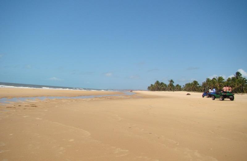 Praia do Gunga, no litoral sul de Alagoas