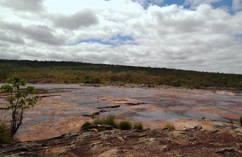 Rio Espalhado na trilha da Cachoeira do Buracão