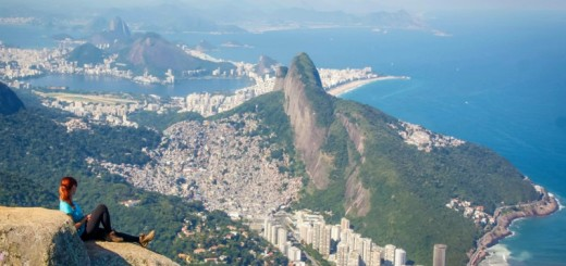 Vista do topo da Pedra da gávea, Rio de Janeiro