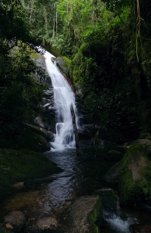 Cachoeira da Gruta do Granito, Cachoeiras do Alcantilado, Visconde de Mauá