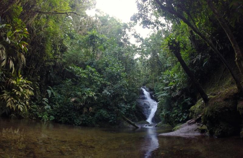 Cachoeira da Toca do Penhasco nas Cachoeiras do Alcantilado, Visconde de Mauá