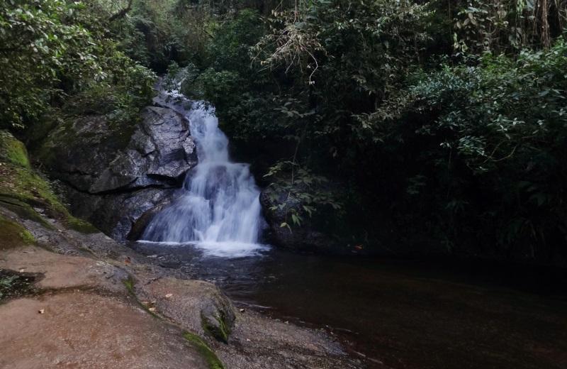 Cachoeira do Lajeado nas Cachoeiras do Alcantilado, Visconde de Mauá