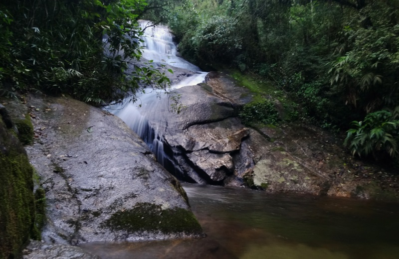 Cachoeira do Açude no Alcantilado, Visconde de Mauá