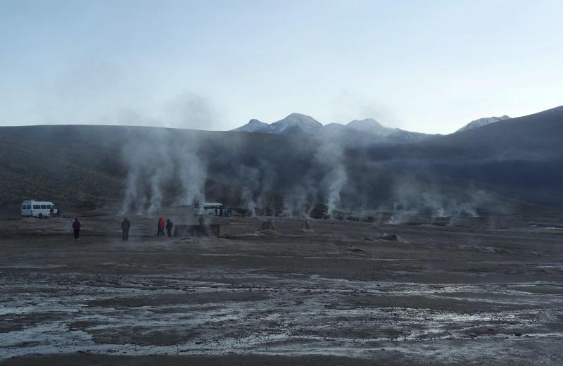 Geyser del Tatio, , passeio no Deserto do Atacama