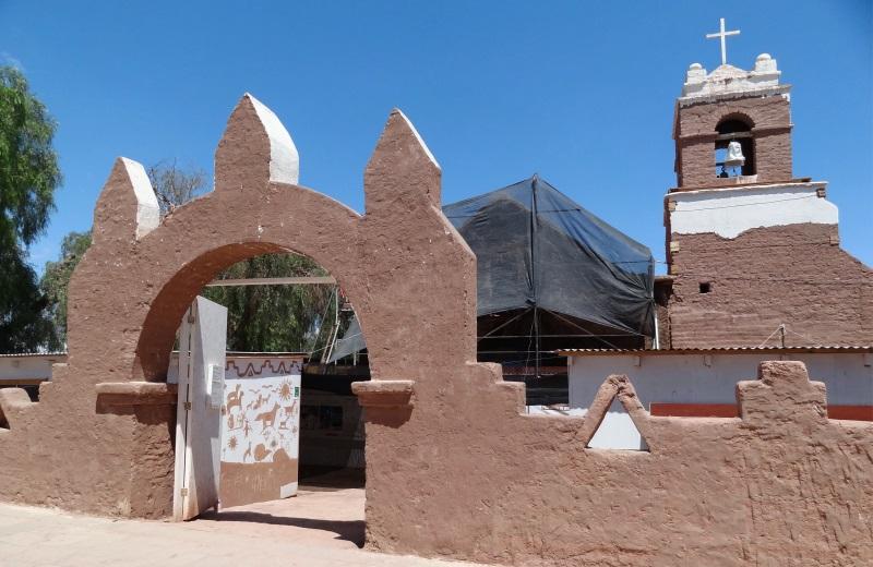 Igreja de San Pedro de Atacama, Chile