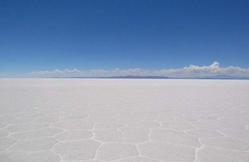 Salar de Uyuni seco, Bolívia