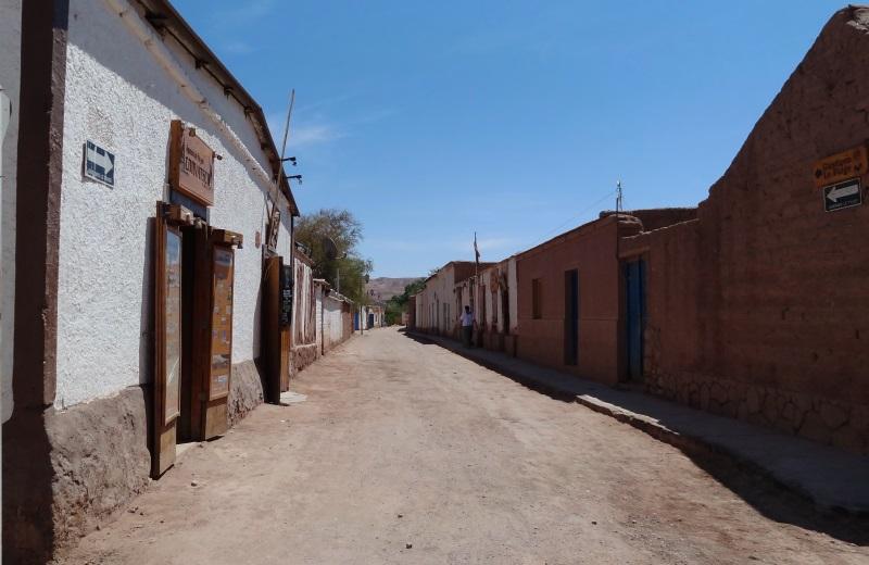 Rua de San Pedro de Atacama, Chile