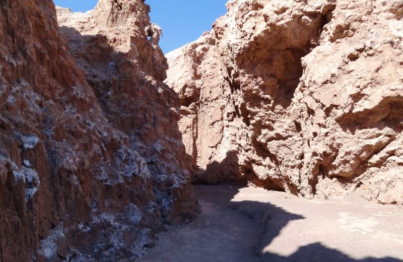 Cañon de Sal, Valle de la Luna