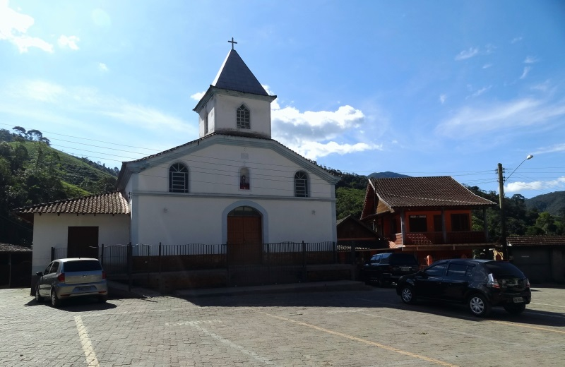 Igreja da Vila da Maromba em Visconde de Mauá