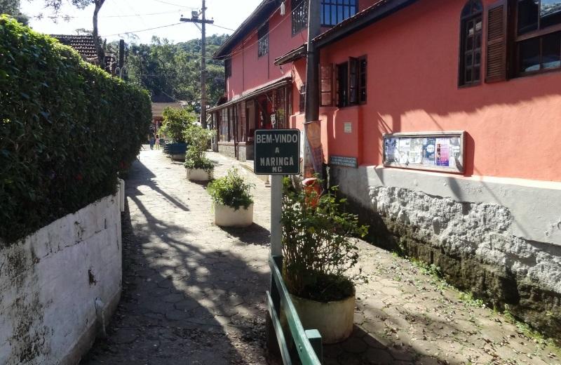 Vila da Maringá em Visconde de Mauá, Minas Gerais