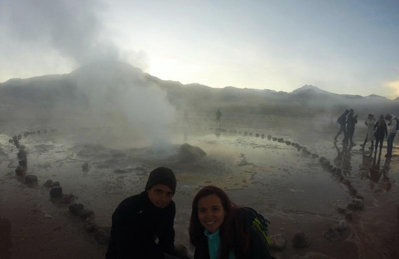Geysers el Tatio, Atacama