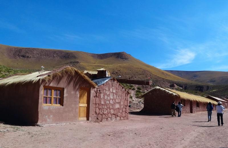 Casas no povoado Machuca, Atacama