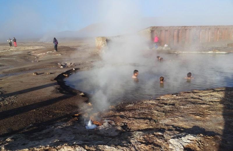 Termas Del Tatio, Deserto do Atacama