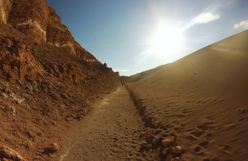 Pôr do Sol na duna maior, Valle de la Luna