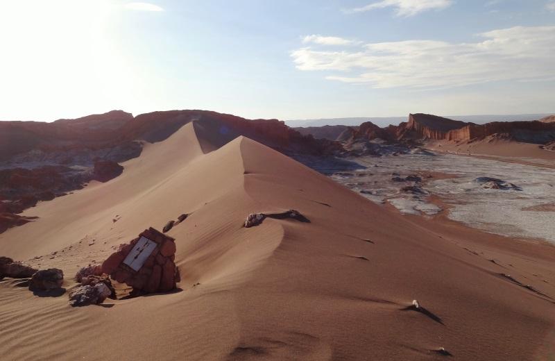 Duna Maior no Valle de la Luna, San Pedro de Atacama
