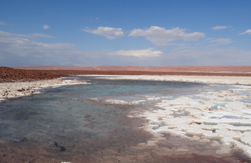Lagunas Escondidas, passeio no Atacama