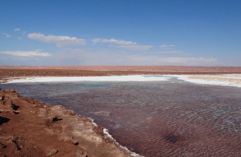Lagunas Escondidas, Atacama