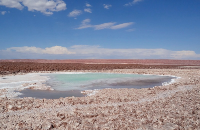 Lagunas Escondidas, Atacama, Chile