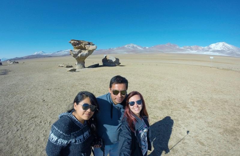Árbol de Piedra, no tour ao salar de Uyuni, Bolívia