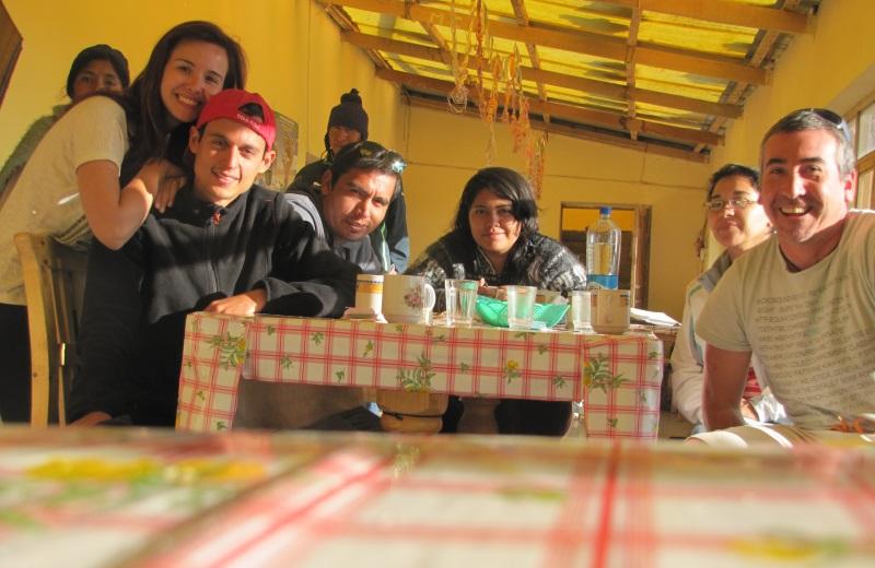 Nossos amigos durante o tour ao Salar de Uyuni.