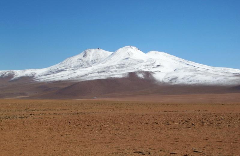 Deserto de Siloli, no tour ao salar de Uyuni, Bolívia