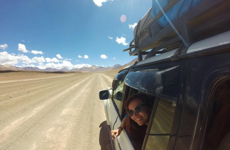 Tour de jeep ao Salar de Uyuni, Bolívia