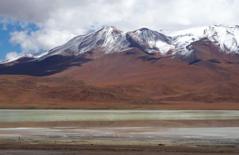 Laguna Hedionda, caminho ao Salar de Uyuni, Bolívia
