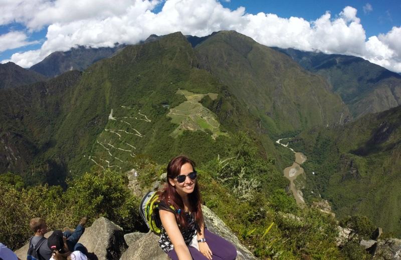 Topo do Waynapicchu, em Machu Picchu, Peru