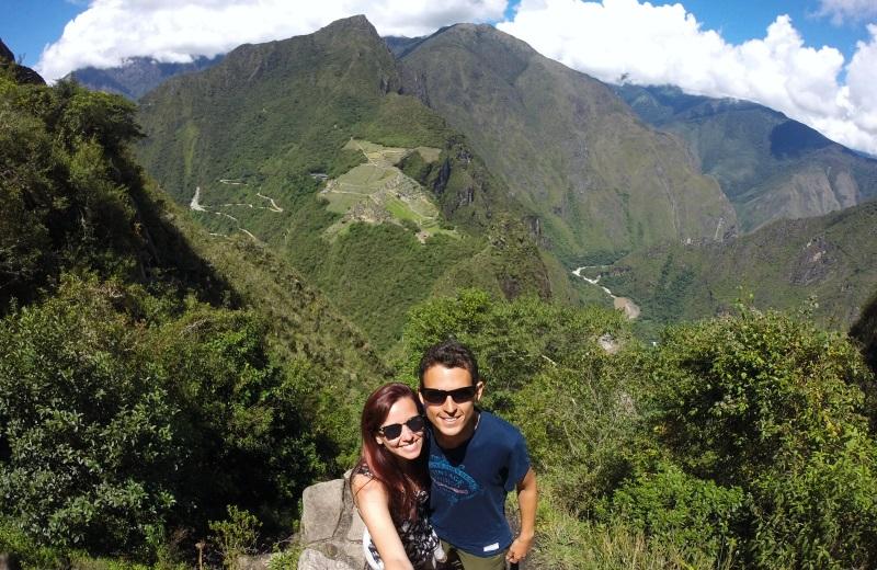 Vista da cidade de Machu Picchu do Waynapicchu
