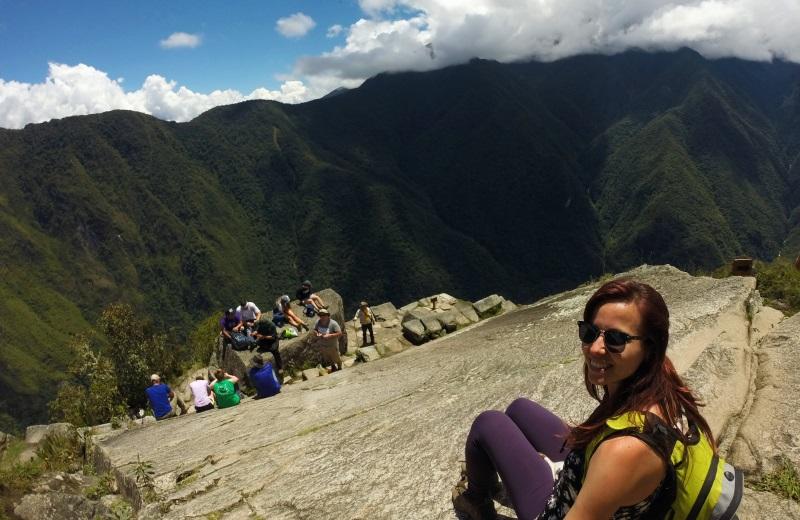 Topo do Huayna Picchu em Machu Picchu
