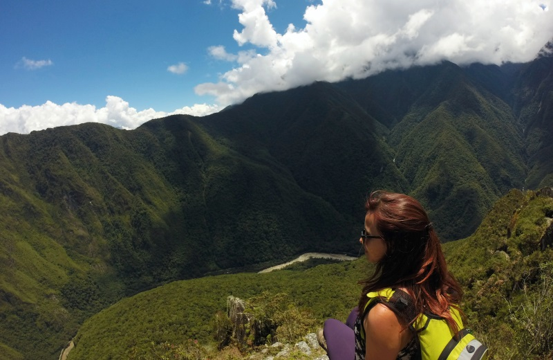Topo do Waynapicchu em Machu Picchu