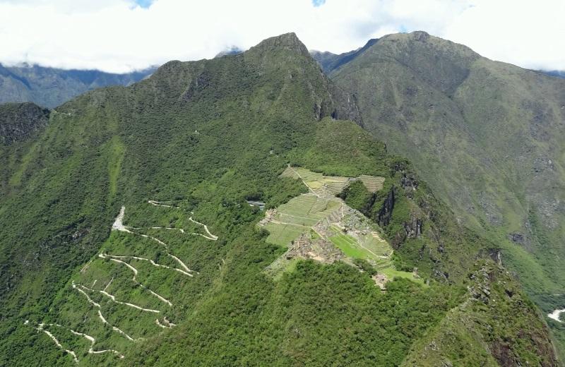 Vista de Machu Picchu do Waynapicchu