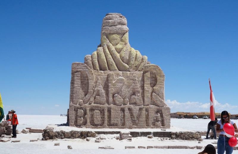 Monumento Rally Dakar Uyuni, Bolívia