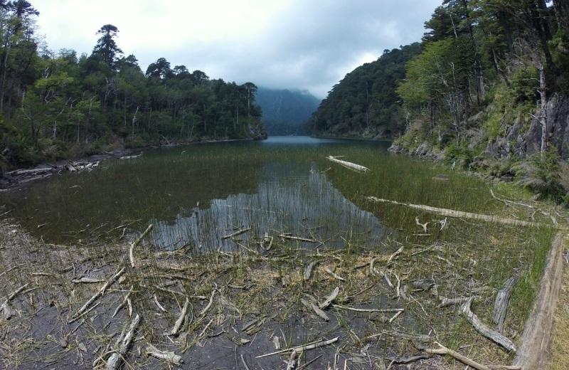 Lago Toro no Parque Nacional Huerquehue