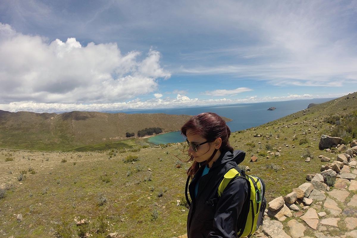 Caminhada de Norte a Sul na Isla del Sol, Lago Titicaca