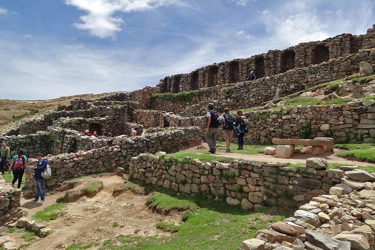 Complexo Chinkana, um labirinto em Challapampa, Isla del Sol, Bolívia