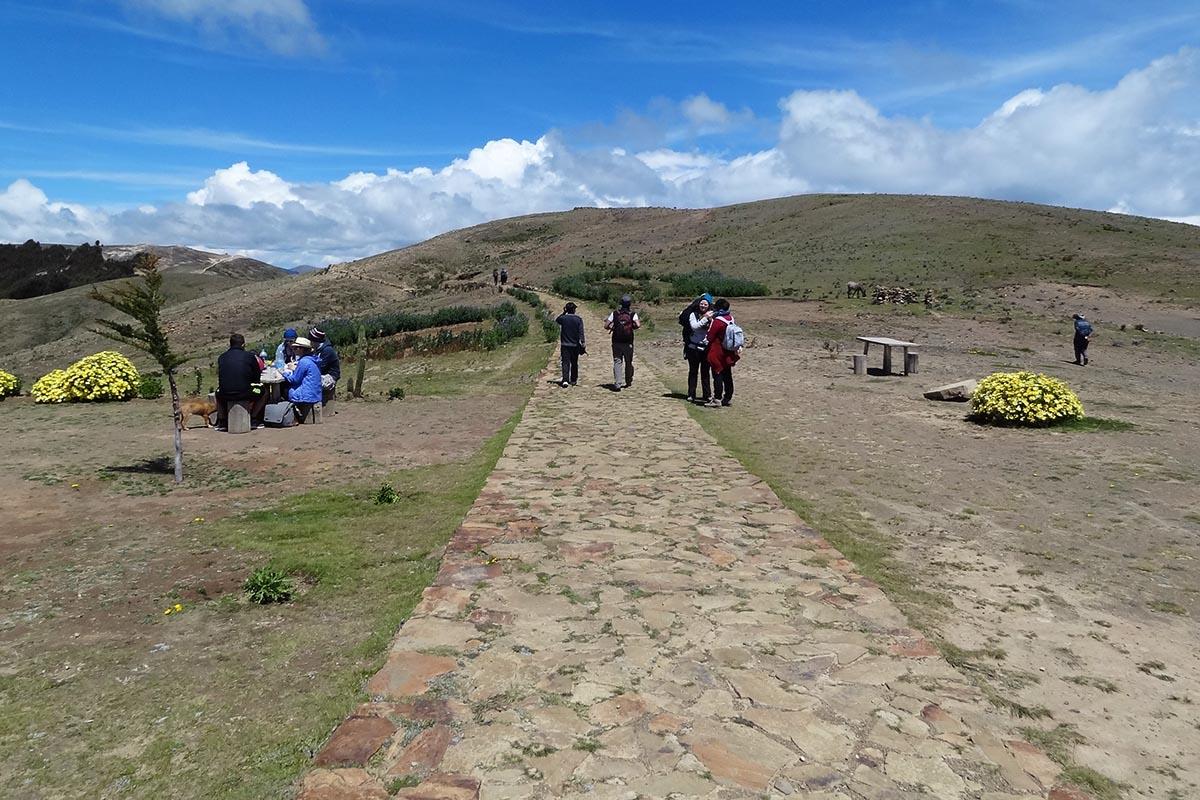 Ruta Sagrada, caminhada norte-sul na Isla del Sol, Bolívia