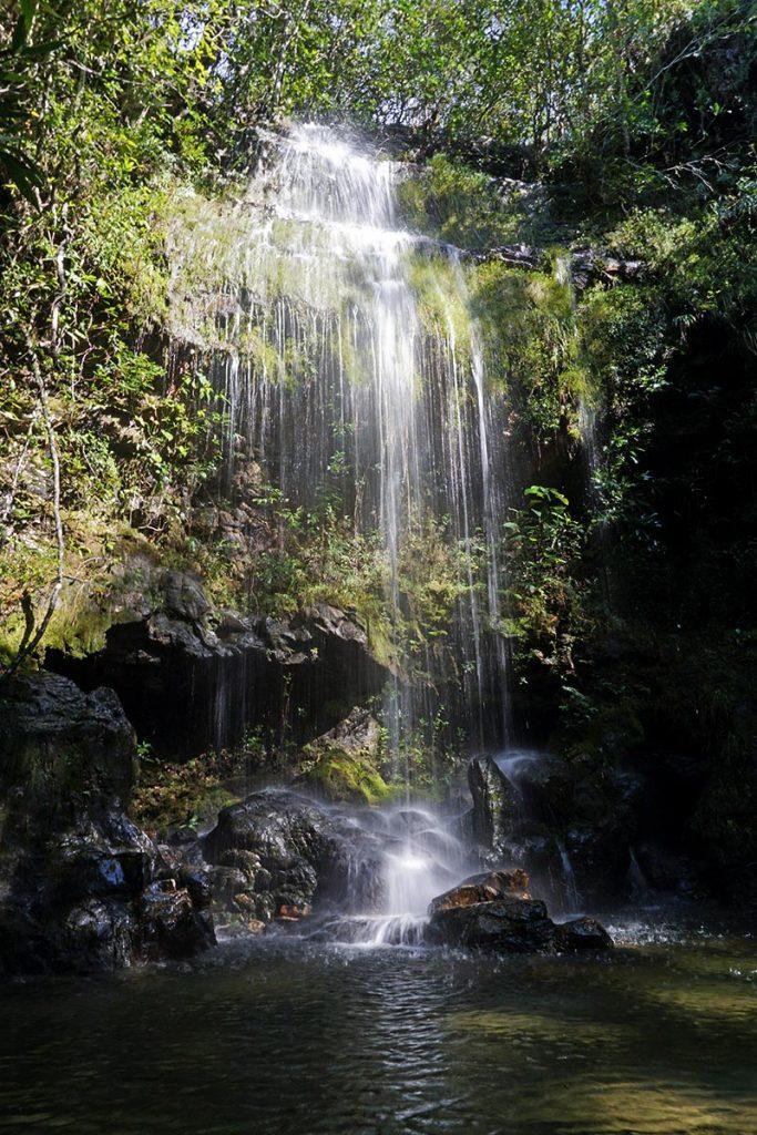 Cachoeira das Esmeraldas, Loquinhas, Chapada Diamantina