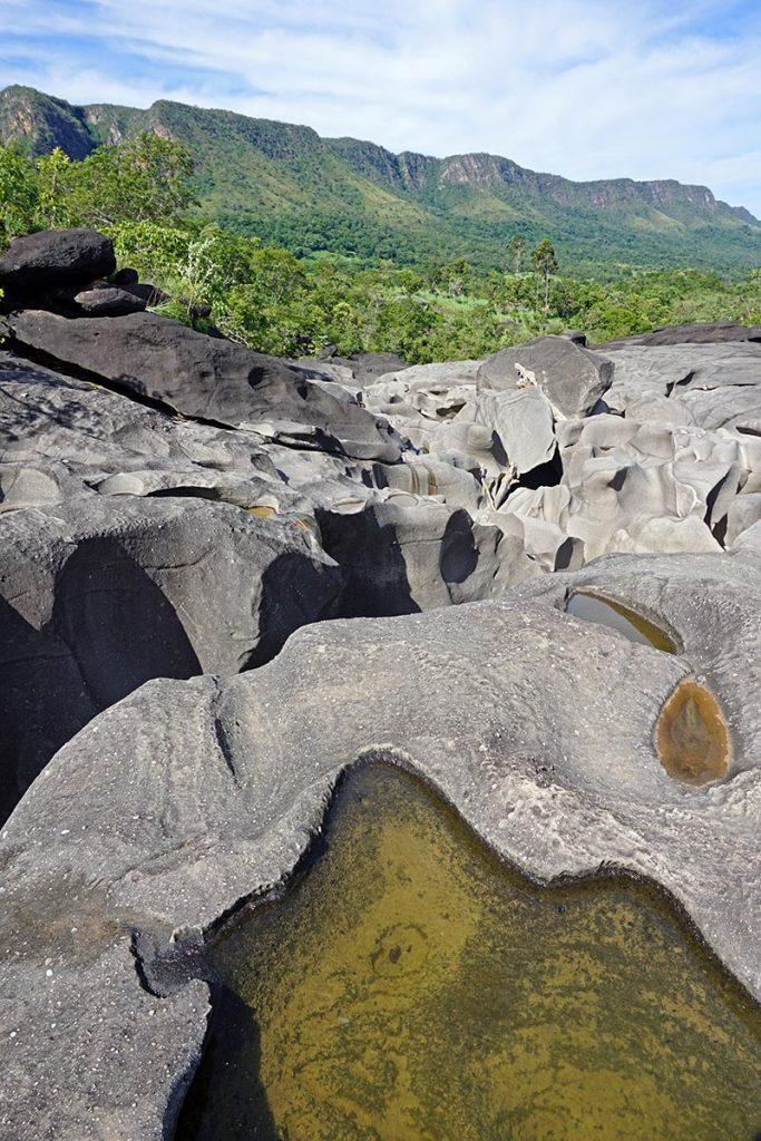 Vale da Lua na Chapada dos Veadeiros, Goiás