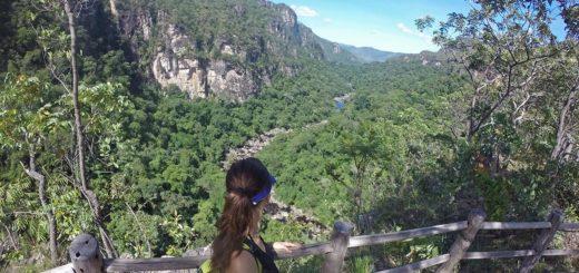 Mirante do Rio Preto no Parque Nacional da Chapada dos Veadeiros