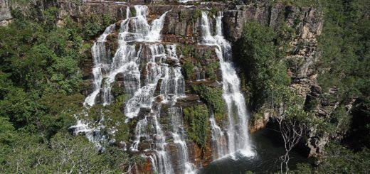 Cachoeira Almécegas 1 na Fazenda Sçao Bento, Chapada dos Veadeiros