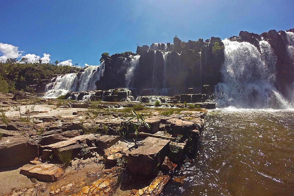 Cachoeira da Muralha, Cataratas dos Couros, Chapada dos Veadeiros
