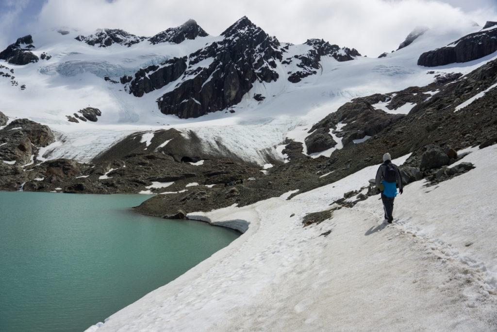 Caminhada para o Glaciar Vinciguerra, em Ushuaia