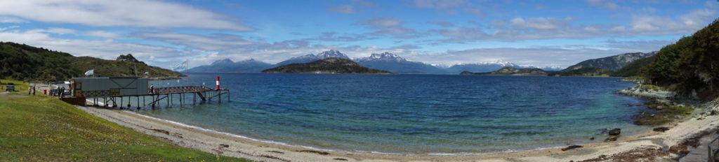 Bahia Ensenada, Parque Nacional Tierra del Fuego em Ushuaia, Argentina