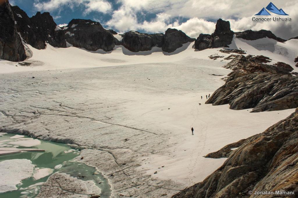Glaciar Ojo del Albino em Ushuaia, Patagônia Argentina