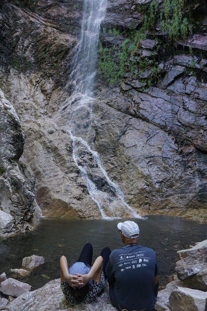 Cachoeira Escondida na Trilha da Cachoeira da Água Fria em Formosa, Goáis