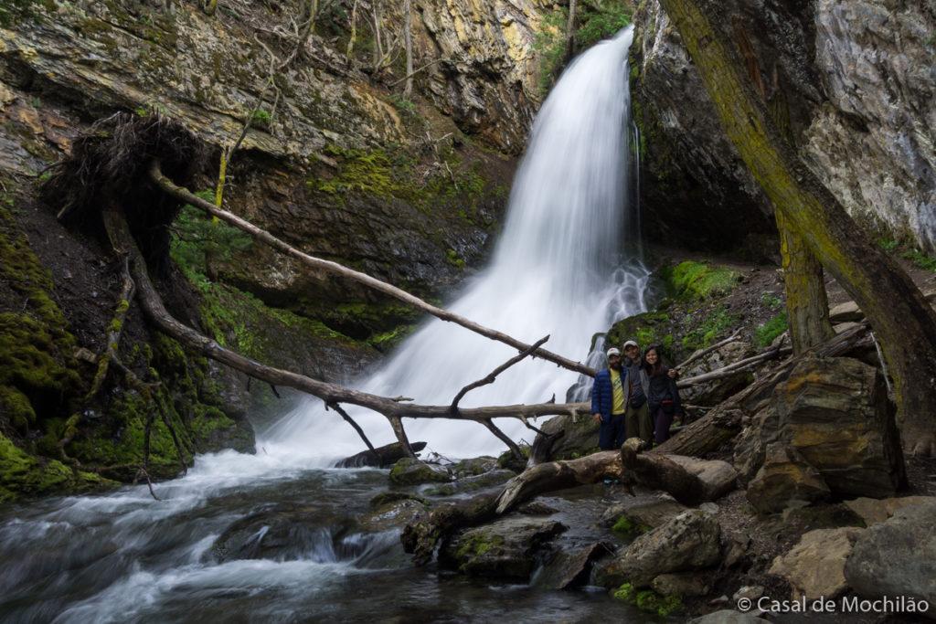 Cascada Velo de la Novia, Cachoeira Véu da Noiva em Ushuaia, Patagônia Argentina